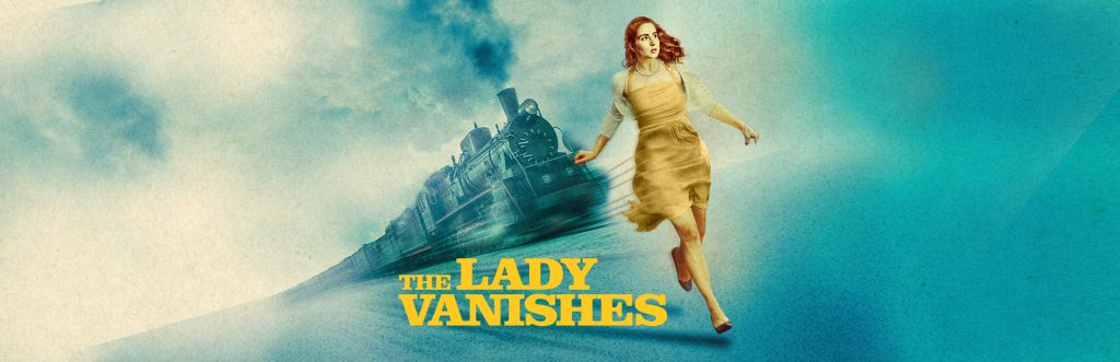The Lady Vanishes Play Banner | Grand Theatre in Blackpool