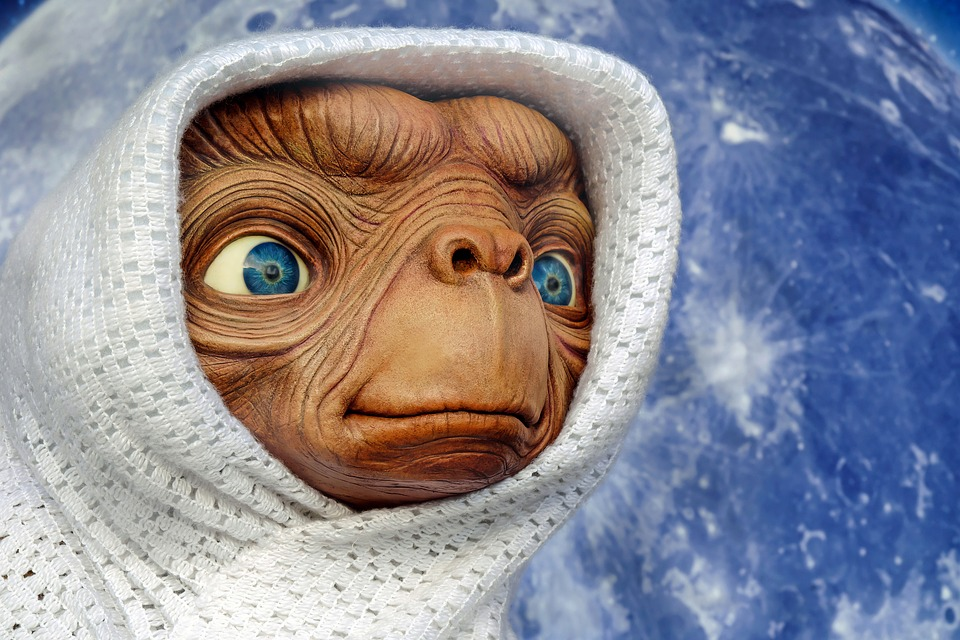 ET from Spielberg Film | Grand Theatre in Blackpool