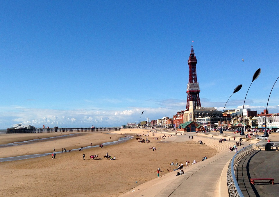 Blackpool Promenade and Blackpool Tower