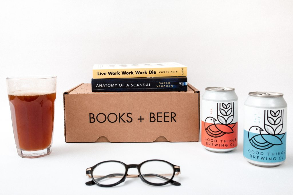 Books Plus Beer - 5 best book subscription boxes